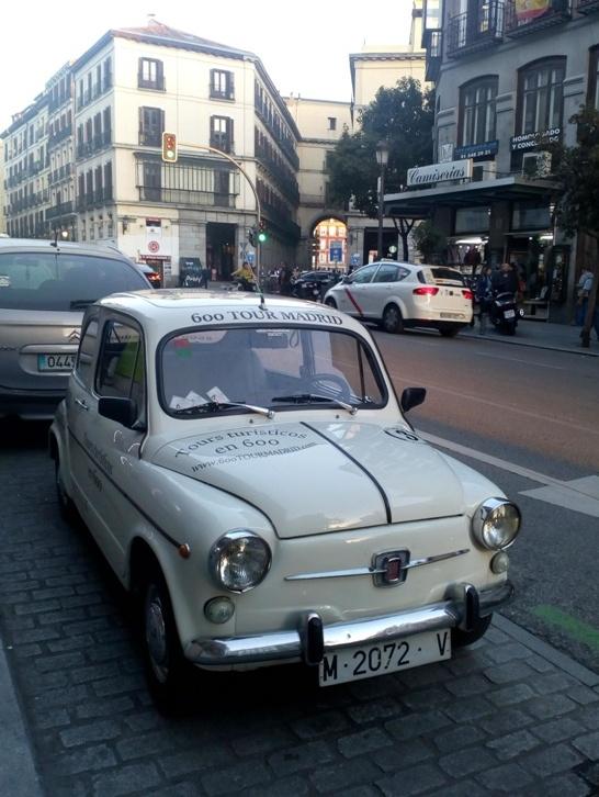 """Стари добри """"фића"""",на улицама Мадрида"""