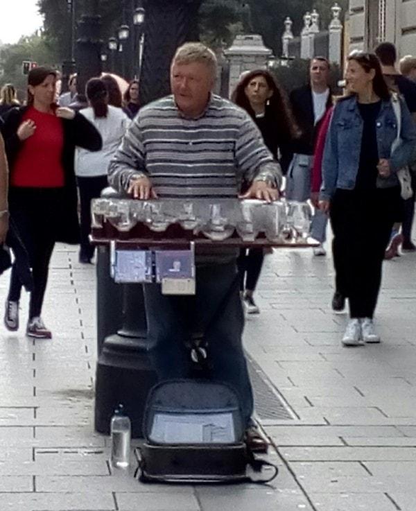 Улични забављачи у Мадриду